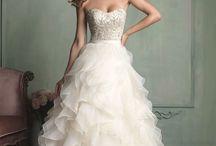 Wedding Dresses Organza Ruffles