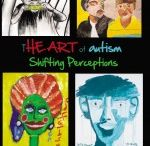 """Artism / The """"autistic"""" brain often creates a propensity for the right-brain gifts of creating visual art. This board celebrates the art of autism...""""ARTism."""""""