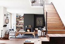 House ideas / Good idea for fireplace shelving