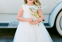 Flowergirl and Ringbearer / Ideas for the cute kids coming down the aisle.