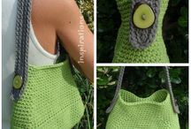 Sac a main en crochet