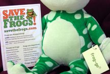 Frog Gifts / All these frog gifts help support our worldwide amphibian conservation efforts. Www.savethefrogs.com/gifts
