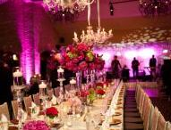 Stylish and luxurious party