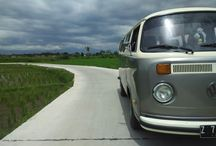 Rota Kombi and our journey / Rota is our new vehicle. Our Kombi VW. Rota means Roti Tawar, a kind of bread that is look like the body of Kombi Volkswagen.