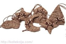 фигурки из джута