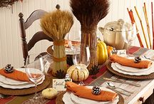 Thanksgiving Decorating / by Gina's Craft Corner
