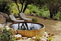 Hot tub/spa bad