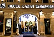 Hotel Carat Boutique Budapest Hungary / Best hotel in center of Budapest!  We wait You! We hear You! We dreaming with You!  Come try Us!