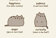 Pusheen / Pusheen and Stormy the cats