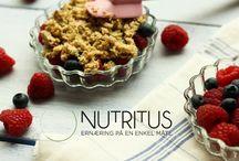 Nutritus - ernæring på en enkel måte