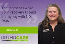 OrthoCARE Institute Testimonials / OrthoCARE Institute's patient #testimonials.