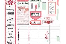 Planner ideas and printable's