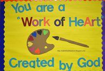 Teacher door ideas! / by Mary Beth Kennedy