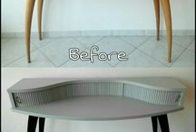 Old furniture makeover. / Makeovers