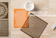 Embossing Paste Projects