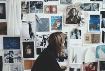Office Of My Own Inspo / Inspiration board for my Office Makeover, now on the blog!! www.atlantishome.com