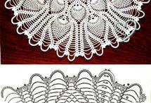 Crochet serwetki