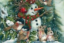 Christmas and Winter Images / Images for printing