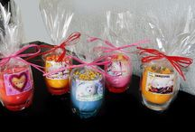 GRANDES BOUGIES NATURELLES PARFUMEES HAND MADE
