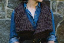 вязание, жилеты