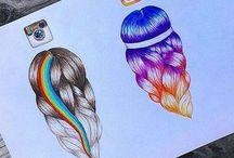 рисунки с соц сетями