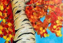 Painting Ideas / acrylic/watercolour