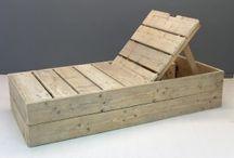 Steiger/pallet hout