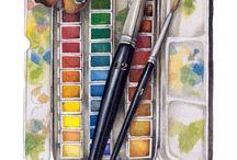 Графика & рисование & гравюра / Традиционные виды графики ( гравюра, рисование кистью, карандашом, углем, пером, фломастерами и т.п, смешанная акварельная  с прорисовкой техника). Нетрадиционная графика с элементами компьютерной.