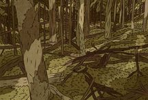 Art-Tin Can Forest