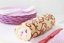 Gâteaux roulés / Roll cakes / Découvrez une sélection de gâteaux roulés