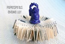 PaperSpirals~Book Art & Origami