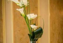 Wedding Venue Floral Decoration / Flower for decoration of tables, wedding venue entrances etc