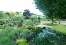The Gardens at Pangdean / Pangdean has a large, flint-walled garden that is perfect for hosting drinks and canapés, and is full of photo opportunities.