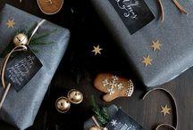 Opakowanie prezentów pod choinkę