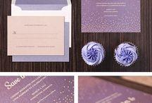 Esküvői meghívók - színes