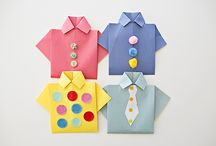 Crafts for Father's Day / We love dad too.. See how to make a card for father's day.