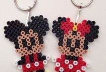 Beads/Perler/Hama Minnie, Mickey, Donald Duck, Goofy, Pluto, Daisy Duck, Chip, Dale