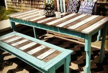 Pallet Furniture Ideas / by Becky Bogle