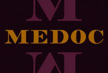 """Medoc Font By Kustomtype / """"Medoc"""" is a clean and fresh font, designed with the intention of producing a good readable modern typeface. Medoc has historical roots, though it's redesigned with precision and a high contrast. Medoc will catch the reader's eye immediately. Both the regular and italic match in perfect harmony. Useful for titling, head text, magazines, posters and all your graphic work that need a nice and modern look! http://www.myfonts.com/fonts/kustomtype/medoc/"""