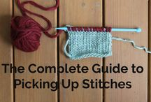 Techniques for knitting / Tutorials