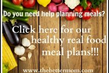 healthy food / by Alice Morrill