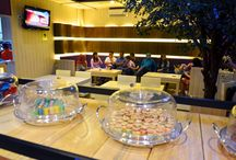 Cozy Place / Hangout now at our Cafe! With comfortable placed and delicious food :)