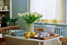 Farmhouse Kitchens/ Country Kitchens / Farmhouse kitchens, country kitchens / by Sunny Simple Life - simple living everyday