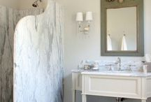 Marble bathrooms and showers