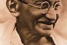 LOVE:  to learn from Gandhi