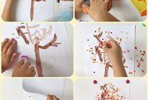 Autumn art ideas