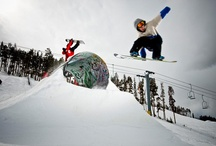 Park sessions, Snowboarding