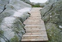 Trails, nature, landscape