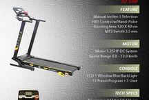 Treadmill Series / All about treadmill equipment