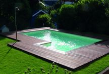 zwembad rand ideeën